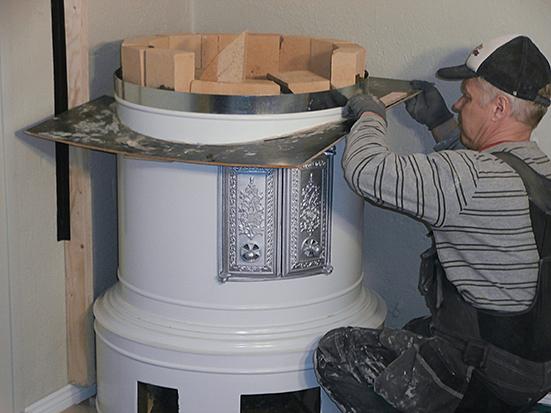 Talon pönttöuunin lämmitys – Myydn iso paellapannu