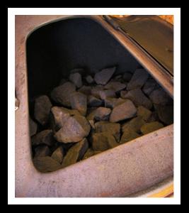 Pönttökiuas kivet